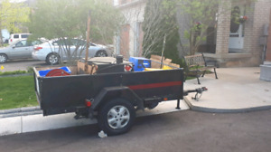 """Driveway sealing tank and trailer """"QUICK SALE NEED IT GONE """""""