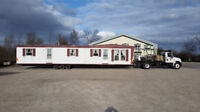 Temporary On-site Mobile Home Rental