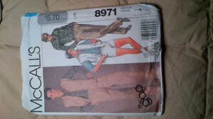 RETRO Clothing patterns Kitchener / Waterloo Kitchener Area image 3