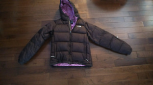 North Face down filled jacket