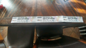 Waterpark tickets oct.28th
