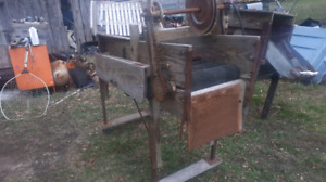 washer and grader 300 for  both