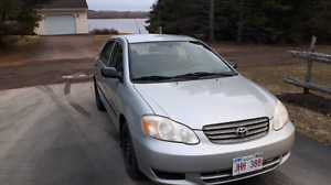 2003 toyota corolla in good condition