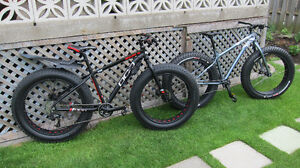 2 FAT BIKES  &  1 MOUNTAIN BIKE    *  VOIR VIDEO *
