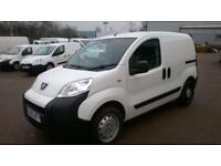 Peugeot Bipper 1.3 Hdi 75 S (Non Start/Stop) DIESEL MANUAL WHITE (2015)