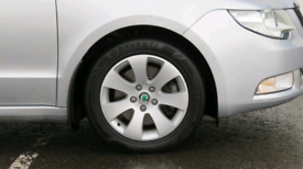 Wanted Škoda Spectrum alloys