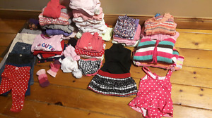 Girls 6-12 and 6-9 month clothes