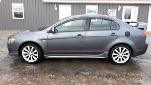 2009 Lancer GTS manual transmission. Warranty until 2019