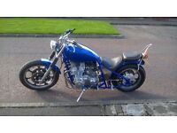 Z1000 hardtail bobber old school shafty swap vmax