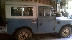 Land Rover Series lll, 88inch Station Wagon