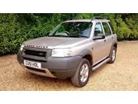 Land Rover Freelander 2.0 TD4 ES Auto 5 Door Warranted Low Miles