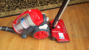 Dirt Devil Multi Cyclonic Bagless Canister Vacuum.