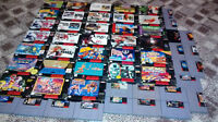 Lots of great SNES games/boxes/mans. for sale! Some rare!