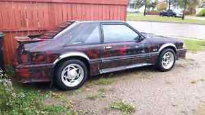 87 Ford Mustang GTO Sports Coupe LOOK$3980.oo