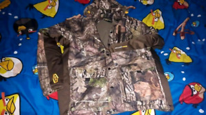Men's camo winter jacket