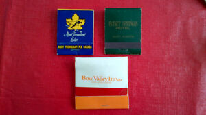 Matchbook Covers-Banff Springs,Bow Valley,Mont Tremblant lodge Kitchener / Waterloo Kitchener Area image 1