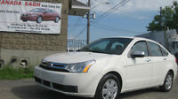 2010 FORD FOCUS ,AUTO, AC,SAFETY+6M.WRTY 6995, LEASE TO OWN AVAI