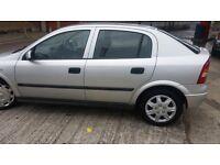 Vauxhall Astra 1.7DTi , £30 TAX/yr , 12 months MOT £495