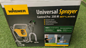 Wagner control pro 250m airless paint sprayer