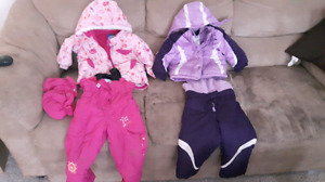 BABY GIRL COATS AND SHOES