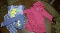 Large lot of 3t clothing