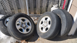 Good year tires on Toyota rims (P225/70 R16)
