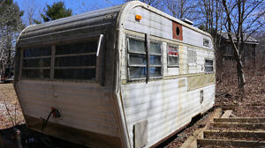 trailer in need of work