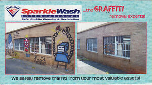 Graffiti Removal Service Cambridge Kitchener Area image 2