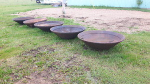 Cone crusher fire pits