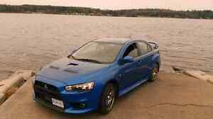 2015 mitsubishi evolution gsr turbo awd with handling package