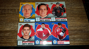 World cup of hockey cards 2016.