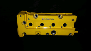 K20 Valve Cover Painted Yellow