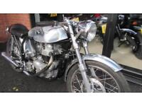 NORTON DOMINATOR CAFE RACER SUPERB EXAMPLE WITH LOADS OF SPARES INC TANK