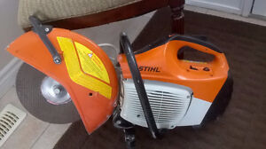 "STIHL TS 420 Concrete Saw ~14"" Blade – Like New !! $775 or B.O."