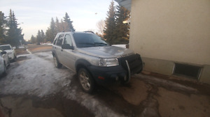 2001 land rover freelander sale or trade