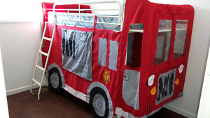 Fire Truck Bunk Bed
