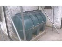 Free 1200L Heating Oil Tank