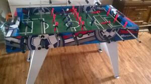 FOOSBALL TABLE, LIKE NEW!!!