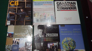 Guelph Humber first and second year textbooks