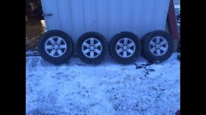Nissan Titan Rims and tires 275/70/18
