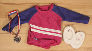 American Girl doll gymnast outfit
