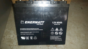 2 new batteries deep-cycle never been used