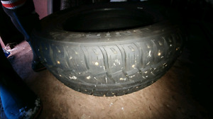 205/55R15 winter studded tires
