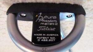 SCOTTY CAMERON FUTURA PHANTOM MALLET PUTTER(sell/trade