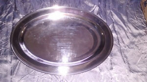 Serving Tray Silver