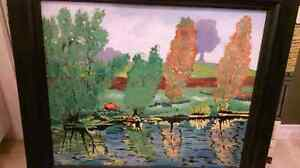5 old paintings that belong to my grandfather London Ontario image 2