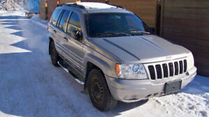 2000 Jeep Grand Cherokee Limited 4.7L 8-cylinder SUV, Crossover