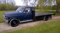 1986 Ford F-350 Diesel flatbed,  Trade?