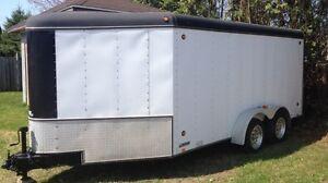 2004 United enclosed trailer