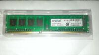 Mémoire Desktop Crucial pc3-10600 DDR3-1333 1x4gb = 4GB